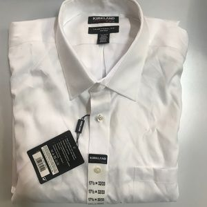 Kirkland Signature Men's Traditional Fit DressShir